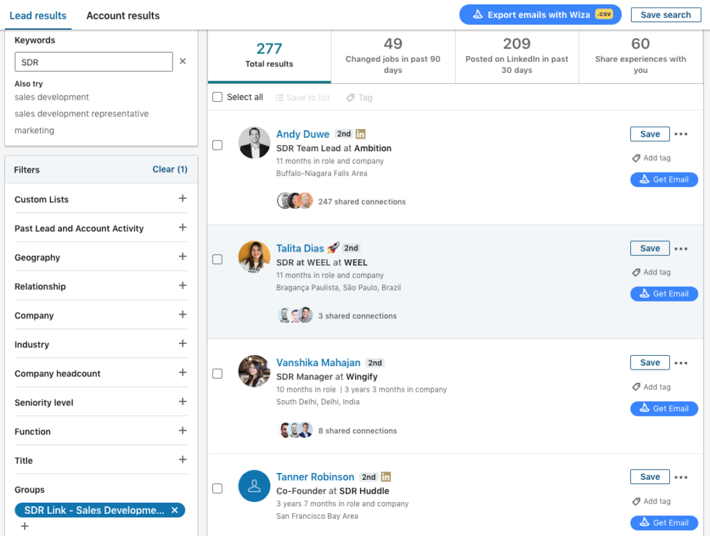 how to extract emails from linkedin groups 3